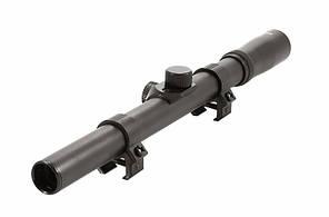 Недорогой оптический прицел ПР-4Х15-Т, ласточкин хвост, алюминиевый сплав