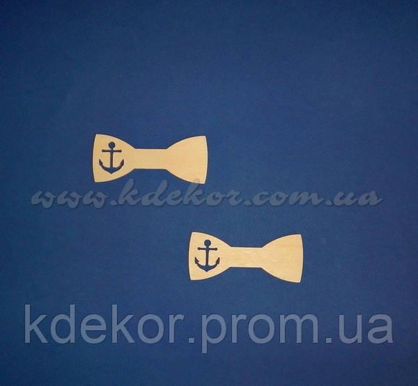 Бабочка-галстук №26 заготовка для декора