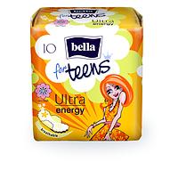 Прокладки Bella for teens Ultra Energy 4 капли 10 шт