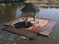 Домик для лебедей