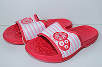 Шлепанцы тм Super Gear для девочки красные р.30,31,33, фото 1