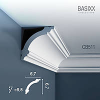 ORAC Decor CB511 BASIXX потолочный багет карниз угловой молдинг лепнина из полистирола 2 м