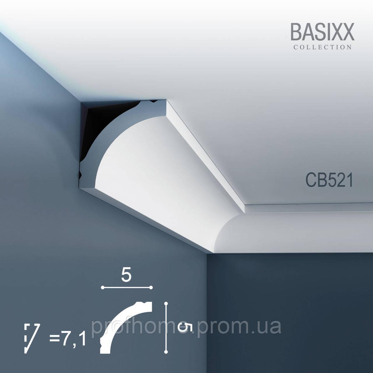 ORAC Decor CB521 BASIXX лепнина из полистирола потолочный багет карниз угловой молдинг 2 м - Товары для косметического ремонта Премиум класса из Германии. в Германии