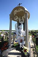Памятник из мрамора № 125