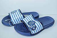 Шлепанцы тм Super Gear для девочки синие р.30,31,33, фото 1