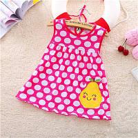 Платье детское 6-18 мес Горошек груша