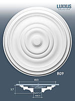 ORAC Decor R09 LUXXUS потолочная розетка лепнина из полиуретана | диаметр 48 см