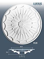 ORAC Decor R28 LUXXUS потолочная розетка лепнина из полиуретана | диаметр 68 см,5 см