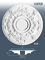 ORAC Decor R38 LUXXUS потолочная розетка лепнина из полиуретана | диаметр 71 см