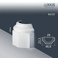 ORAC Decor K4121 LUXXUS полуоснование полуцоколь для колонны с пьедесталом лепнина из полиуретана