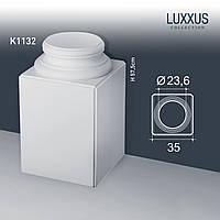 ORAC Decor K1132 LUXXUS цоколь основание с пьедесталом для колонны лепнина из полиуретана | 57 см