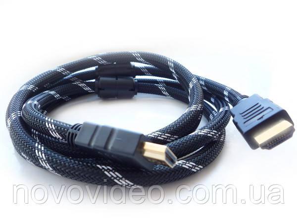 Кабель HDMI - HDMI v 1.3 19PM/M  длина 1.8m  (Black&Golden) на блистере