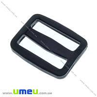 Перетяжка пластиковая для рюкзака, Черная, 30 мм, 1 шт (SEW-016337)