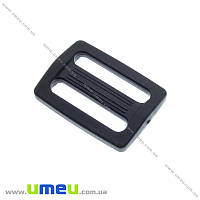 Перетяжка пластиковая для рюкзака, Черная, 25 мм, 1 шт (SEW-016338)