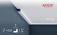 ORAC Decor PX164 AXXENT потолочный дверной багет карниз плинтус угловой молдинг лепнина из дюрополимера 2 м