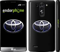 """Чехол на LG G3s D724 Toyota. Logo v2 """"3139m-93"""""""