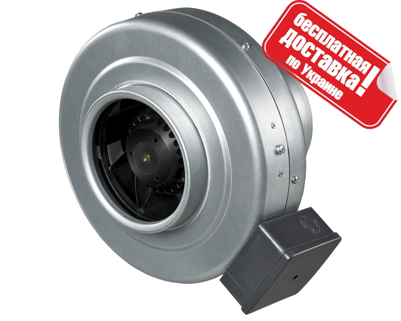 Відцентровий канальний вентилятор Вентс ВКМц 150 (455 м3/год)