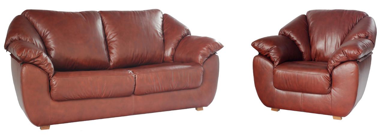 """Комплект кожаной мягкой мебели """"Norton"""""""