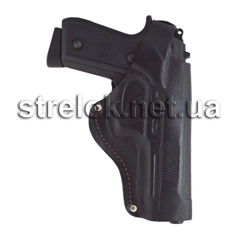 Кобура для Beretta 92 поясная кожаная