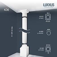 ORAC Decor KD6 LUXXUS полная колонна каннелированная лепнина из полиуретана | 2,87 м