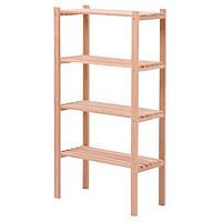Этажерка деревянная 65x30x120 см
