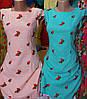Платье женские с вышивкой клубничка, фото 2