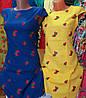 Платье женские с вышивкой клубничка, фото 3