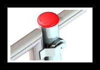 Ограждение, ОК-ПА1С-2, поворотная секция (калитка) с функцией автоматического открытия и аварийной кнопкой.