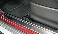 Накладки на пороги Suzuki Jimny 1998- 2шт. premium