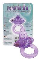 Эрекционные кольца Seven Creations Виброкольцо Nubby Clitoral Probe Cockring фиолетовое | Секс шоп - интим магазин Импери.