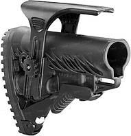 Приклад FAB Defense для М16/AR15 с регул. щекой ц:black