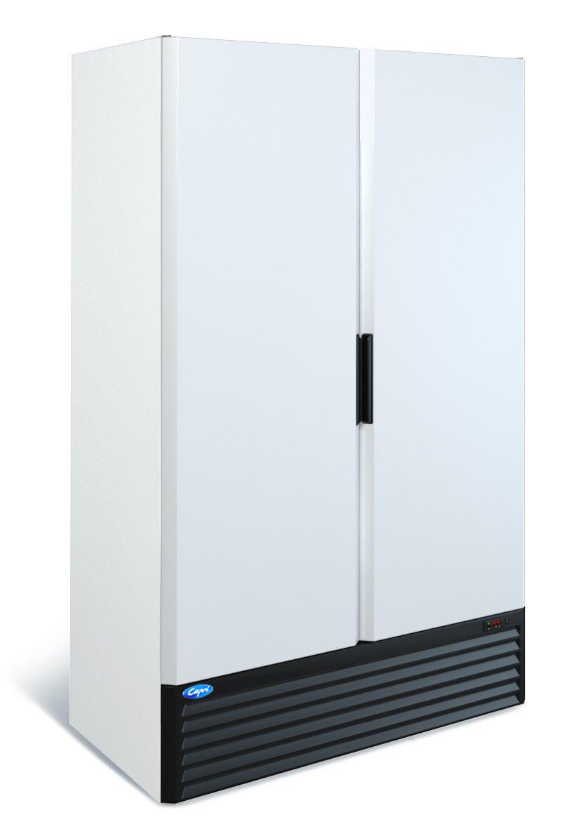 Низкотемпературный двухдверный шкаф Капри 1,12Н (-12...-18С)