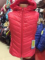 Детская балоновая жилетка на флисе (однотонная)