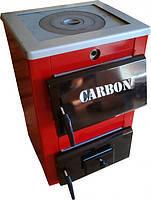 Carbon КСТО 18П универсальные твердотопливные котлы (Карбон с чугунной плитой)