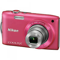 NIKON COOLPIX S33 (розовый), фото 1