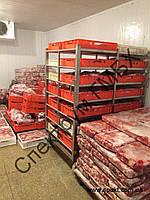 Тележка для заморозки мяса в ящиках