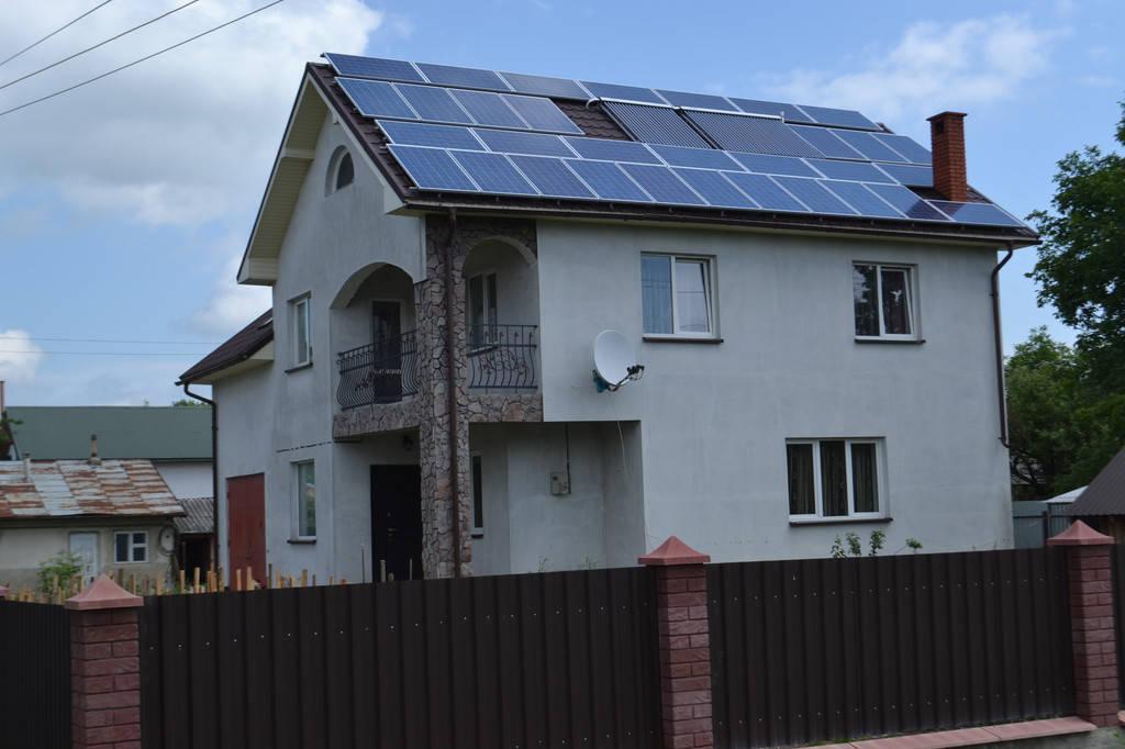Сонячна мережева електростанція 10 кВт ( Івано-франківська обл. )