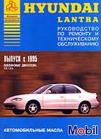 Книга Hyundai Lantra с 1995 Инструкция по ремонту и эксплуатации
