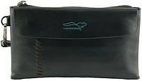 Стильная кожаная мужская сумочка-портмоне  Kangaroo 7115-07, коричневый
