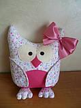Сова Леди   интеръерная игрушка-подушка, фото 2