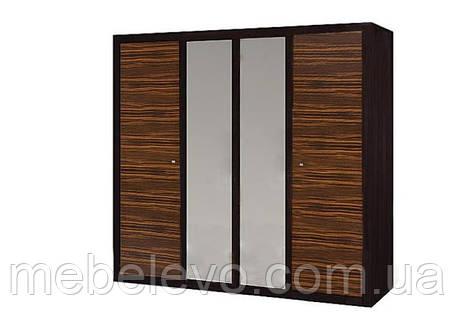 Гербор Капри шкаф 4d  1970х2170х614мм венге магия, фото 2