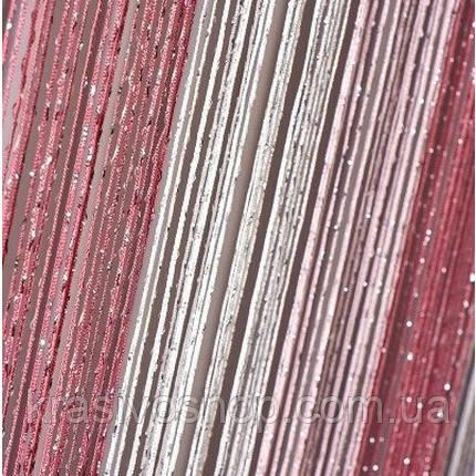 Штори нитки веселка дощ 1+5+6