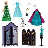 Набір Ельза з гардеробом Дісней Холодне серце Disney Elsa Wardrobe Doll Play Set