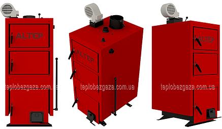Отопительный котел на твердом топливе Альтеп KT-1ЕN/(NM) 33 квт площадь отопления до 330 м2, фото 2