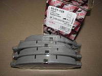 Комплект тормозных колодок, дисковый тормоз (Производство ASHIKA) 50-01-128