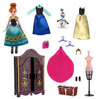 Набір Ганна з гардеробом Дісней Холодне серце Disney Anna Wardrobe Doll Play Set