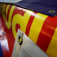 Широкоформатная печать на ламинированном баннере., фото 1