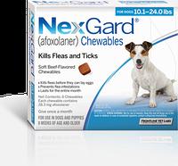Merial NexGard (Нексгард) Таблетки от блох и клещей для собак весом от 4 до 10 кг  1 табл.