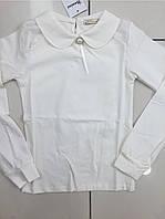Кофта-блуза для девочек с воротничком 140-176