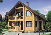 Коттеджи строительство, клееный брус дом цена, строительство из клееного бруса Днепропетровск